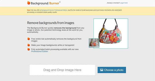 制作会社 神戸 サイドスリー ちょっとした画像切り抜き作業のときにはbackground Bunner!