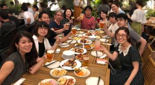 サイドスリー8月度社内イベント「ビアガーデン2018!」