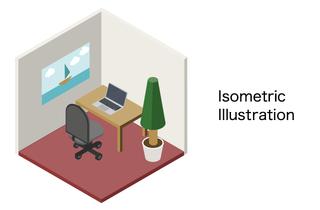 素材をつくろう!Adobe Illustratorでアイソメトリックイラスト