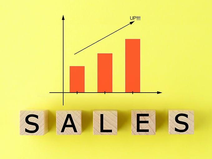 売上の見える可のイメージ